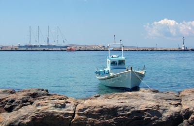 Agios Kirikos Fähren