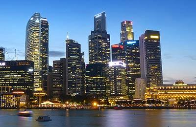 Fähre nach Singapur