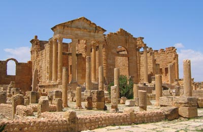 Sufetula, Tunesien